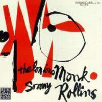 Thelonious Monk and Sonny Rollin