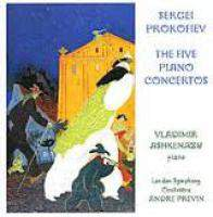 Prokofiev - The Five Piano Concertos CD2